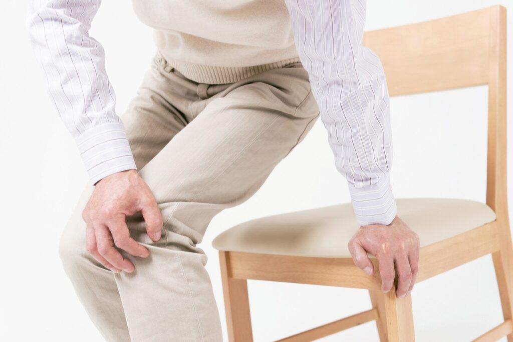 退化性關節炎姿勢不正確